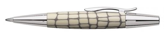 Bolígrafo Faber-Castell E-motion Croco Marfil