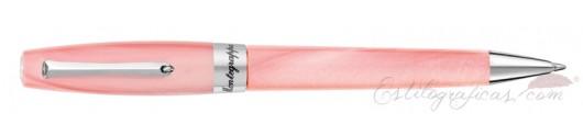 Bolígrafo Montegrappa Felicità Sugar Pink Dust
