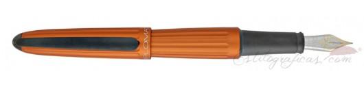 Estilográfica Diplomat Aero Orange 14 K
