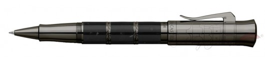 Rollerball Graf von Faber-Castell Pen of the Year 2018 Negro