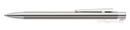 Bolígrafo Faber-Castell Neo Slim Acero Pulido