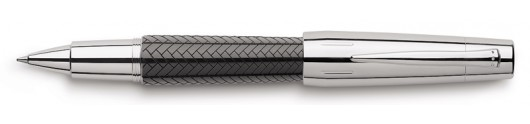 Roller Faber-Castell E-motion Trenzado Negro