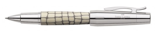 Roller Faber-Castell E-motion Croco Marfil