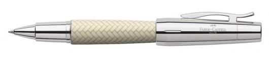 Roller Faber-Castell E-motion Trenzado Marfil