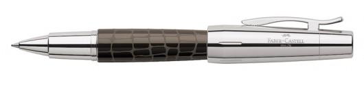 Roller Faber-Castell E-motion Croco Marrón