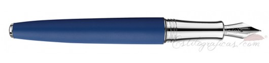 Estilográfica Caran d'Ache Léman Blue Night Matt