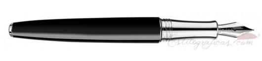 Estilográfica Caran d'Ache Léman Bicolor Black