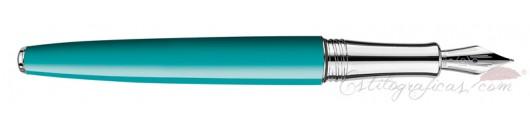 Estilográfica Caran d'Ache Léman Bicolor Turquoise
