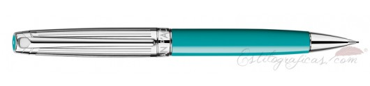 Portaminas Caran d'Ache Léman Bicolor Turquoise