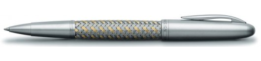 Rollerball Tec Flex P 3110 Acero y Oro Porsche Design