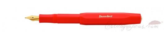 Estilográfica Kaweco Classic Sport Rojo
