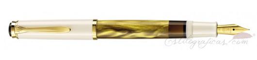 Estilográfica Pelikan Classic M 200 dorado Marmoleado