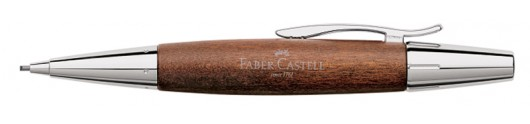 Portaminas Faber-Castell E-motion Madera de Peral Marrón