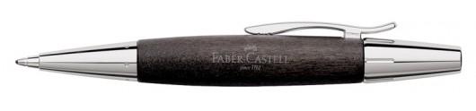 Bolígrafo Faber-Castell E-motion Madera de Peral Negro