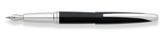 Estilográfica Cross ATX Lacada en Negro