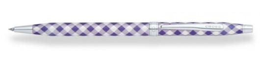 Bolígrafo Cross Century Colours Violeta a Cuadros