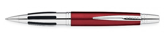 Bolígrafo Cross Contour Rojo y Cromo