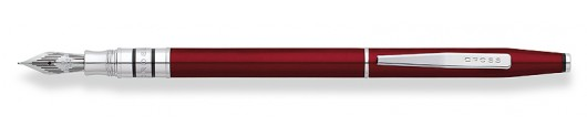 Estilográfica Cross Spire Rojo Ticiano
