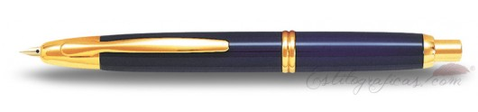 Estilográfica Pilot Capless Azul / Oro