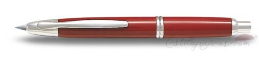 Estilográfica Pilot Capless Rojo / Rodio