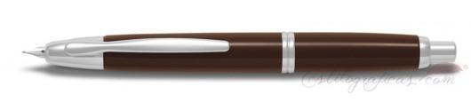 Estilográfica Pilot Capless Chocolate / Rodio