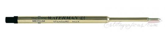 Recambios Waterman para bolígrafo standard Máxima