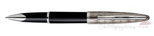 Rollerball Waterman Carene Contemporary Negro