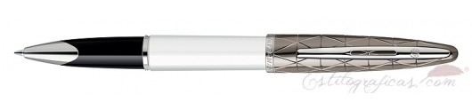 Rollerball Waterman Carene Contemporary Blanco
