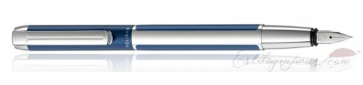 Estilográfica Pelikan Pura Azul