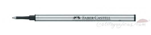 Roller - Recambio Faber-Castell Azul / Negro
