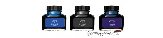 Tinteros Parker para plumas estilográficas