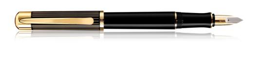 Estilográfica Pelikan Ductus P 3100 Negro y Oro