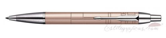 Bolígrafo Parker IM Premium Metallic Pink