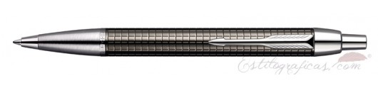 Bolígrafo Parker IM Premium Chiselled Carbón
