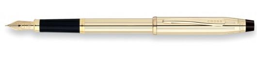 Estilográfica Cross Century II Laminada en Oro