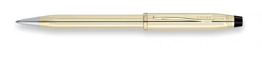 Bolígrafo Cross Century II Laminado en Oro