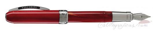 Estilográfica Visconti Rembrandt Rojo