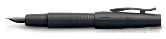 Estilográfica Faber-Castell E-motion Pure Black