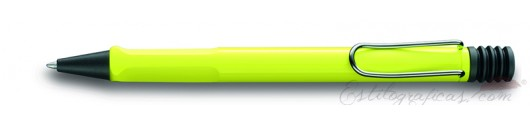 Bolígrafo Lamy Safari Neon 213