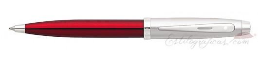 Bolígrafos Sheaffer Gift 100 Rojo y Cromo