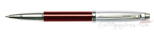 Rollerball Sheaffer Gift 100 Rojo y Cromo