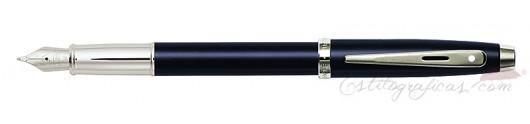 Pluma Estilográfica Sheaffer Gift 100 Azul Pavonado