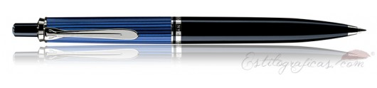 Bolígrafo Pelikan Souverän K 405 Negro, Azul y Plata