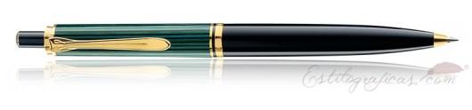 Bolígrafo Pelikan Souverän K 400 Negro y Verde