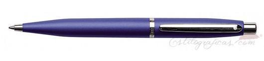 Bolígrafo Sheaffer VFM azul neón