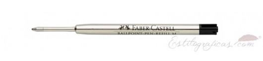Recambios Bolígrafo Faber-Castell Azul / Negro