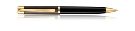 Bolígrafo Pelikan Ductus K 3100 Negro y Oro