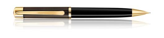 Portaminas Pelikan Ductus D 3100 Negro y Oro