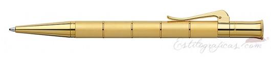 Bolígrafo Graf von Faber-Castell Clásica Anello Oro