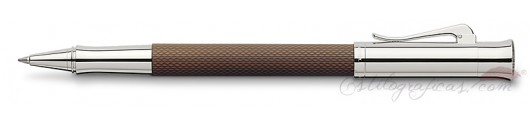 Roller Graf von Faber-Castell Guilloche Cognac